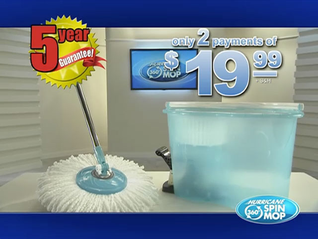 Hurricane Spin Mop Video